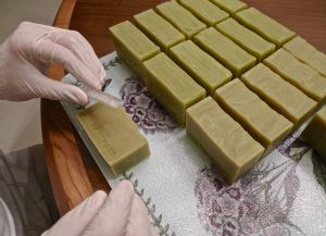 Soap stamping 1