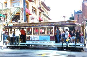 What's San Francisco without its iconic cable car?