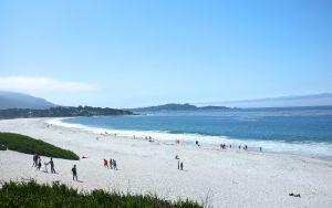 Carmel beach on a balmy day.