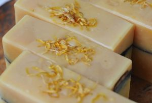 Calendula and Goat's Milk Soap