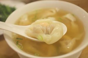 Din Tai Fung's wonton soup