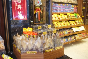 Sadly, shark's fin is still widely sold in Taiwan.