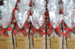 Christmas Packaging - Plaid Ribbon