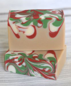 Christmas Soap-Peppermint Vanilla