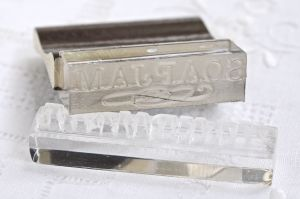 Acrylic soap stamps