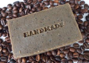 Stamped Coffee Soap