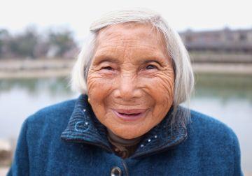 China - Portrait Old Woman