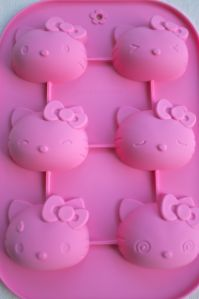 Hello Kitty soap mold