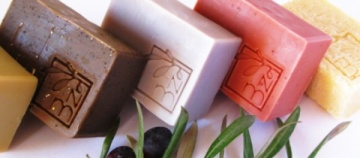 All-natural soaps.